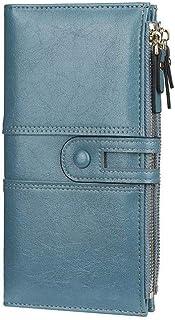 GUMAOPAJIAAAqb Monederos de Mujer, Women Wallets Fashion Long Leather Top Quality Card Holder Classic Female Purse Zipper ...