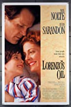 Lorenzo's Oil (1992) Original U.S. One-Sheet Movie Poster 27x41 Rolled Fine Plus Condition SUSAN SARANDON NICK NOLTE ZACK O'MALLEY GREENBURG PETER USTINOV Film directed by GEORGE MILLER