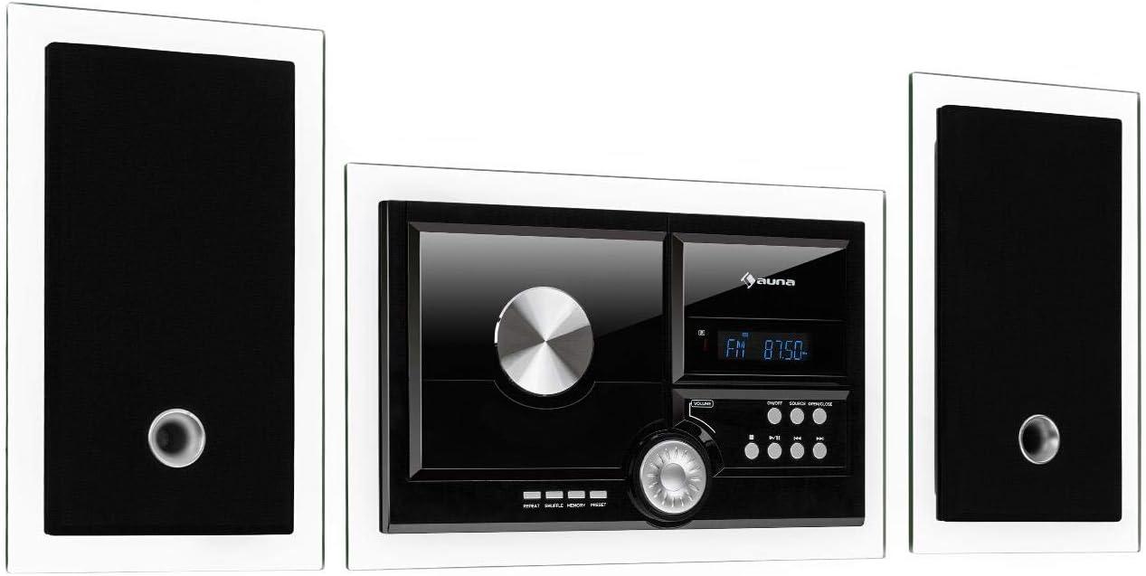 AUNA Stereosonic Microsystem Very popular Stereo System 2 Ste Micro Colorado Springs Mall