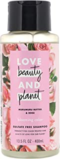 Love Beauty And Planet Shampoo Murmuru Butter & Rose, 400ml
