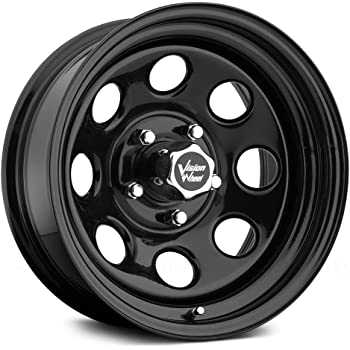 "Vision 85 Soft 8 Black Wheel with Painted Finish (15x7""/5x139.7mm)"