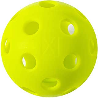 Franklin Sports X-26 Pickleballs - Indoor - 100 Pack - USA PICKLEBALL APPROVED - Lime Green
