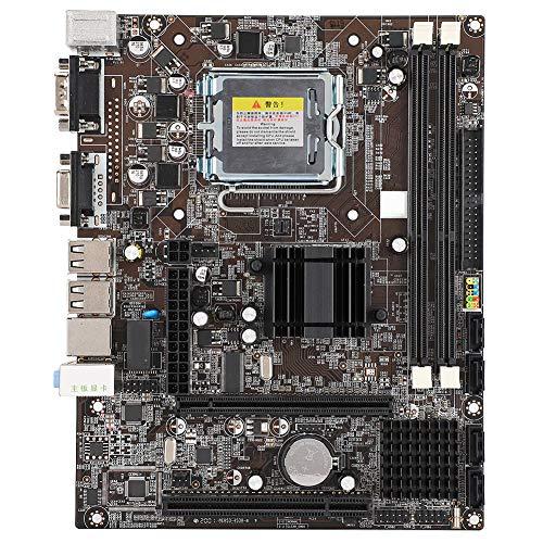 LGA775マザーボード DDR3 1066 / 1333MHz コンピュータマザーボード 統合サウンドカード/ ネットワークカード デスクトップメインボード 交換用 代替用マザーボード