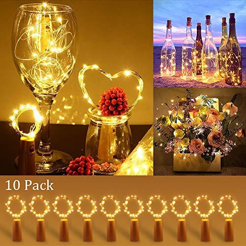 [10 Piezas] Luces para Botellas
