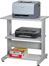 Wohnzimmer Audio-Racks B/üroregale Schlafzimmer Office Supplies z-Typ Druckerst/änder Doppel Kopierer Stehen Mehrzweckdateispeicherschr/änke f/ür Arbeitszimmer Schreibtisch erh/öht Rahmen