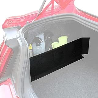 RED SHIELD Multipurpose Auto Trunk Organizer for Car, SUV, or Minivan - [Black] 22.4 inches X 7.08 inches