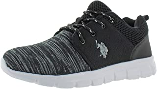 Stabelizer Men's Knit Low Top Lace-Up Casual Sneakers Shoes