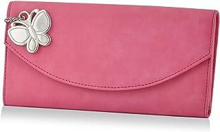 Butterflies Pink Synthetic Women's Wallet (BNS 2320 PK)