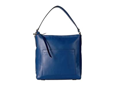 Cole Haan Kaylee Bucket Hobo (Navy Peony) Handbags