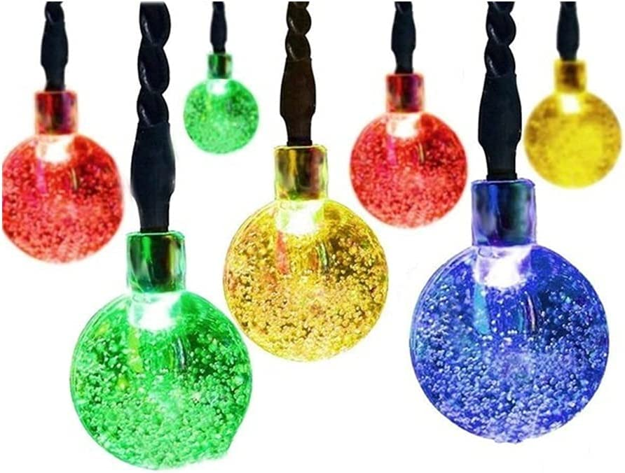 String Lights Solar Globe LED Balls Fai Award-winning store Now on sale Waterproof