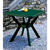 Table 80x 80cm Nil vert