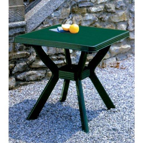 Table 80 x 80 cm Nil vert