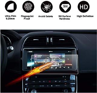 Fit for Jaguar XE X760 10.2 inch 9H Tempered Glass Display Transparent Protection LUVCARPB Car Navigation Screen Protector