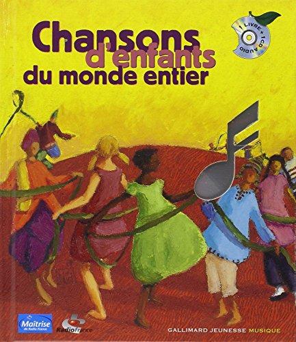 Mirror PDF: Chansons d'enfants du monde entier (1 livre + 1 CD)