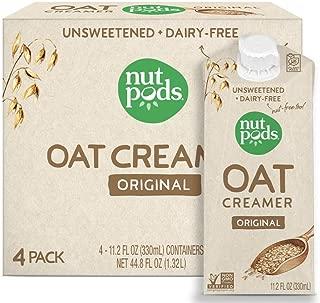 nutpods Oat Coffee Creamer by nutpods, Original 4-pack