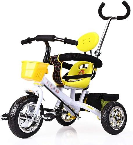 calidad oficial Triciclos Cochecito Infantil Infantil Infantil Trike para Niños de 2 a 6 años, Converdeible Ajustable de Acero Resistente  a precios asequibles