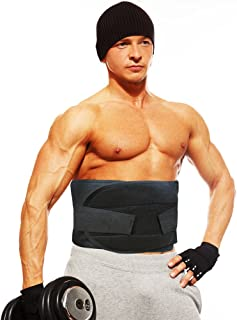 Trim n' Slim Unisex Adjustable Fitness Waist Trainer,  Waist Trimmer Belt