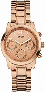 Guess Womens Quartz Watch, Analog Display and Stainless Steel Strap - W0448L3