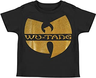 Wu-Tang Clan Boys' Childrens T-Shirt Black
