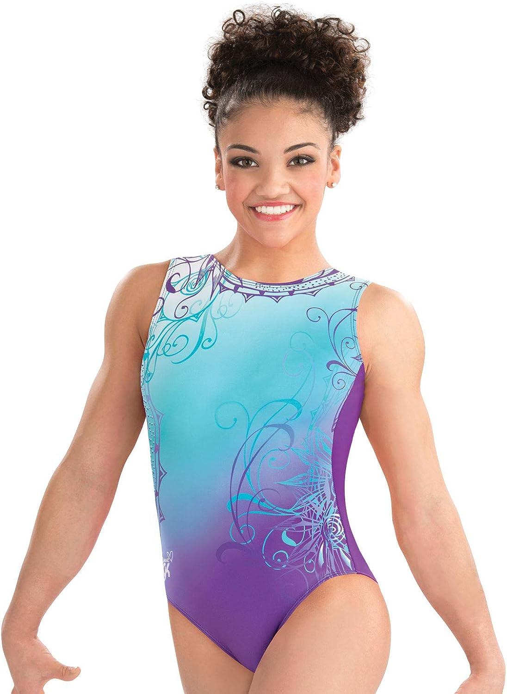 Boston Mall GK Free Shipping New Girls Laurie Hernandez Whirl Gymnastics Leotard of Wonder