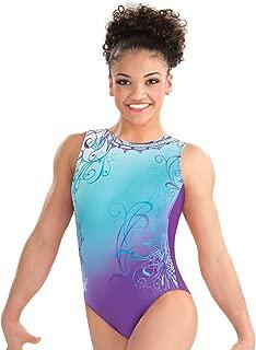 GK Girls Laurie Hernandez Whirl of Wonder Gymnastics Leotard