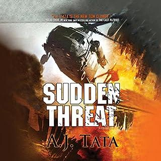 Sudden Threat audiobook cover art
