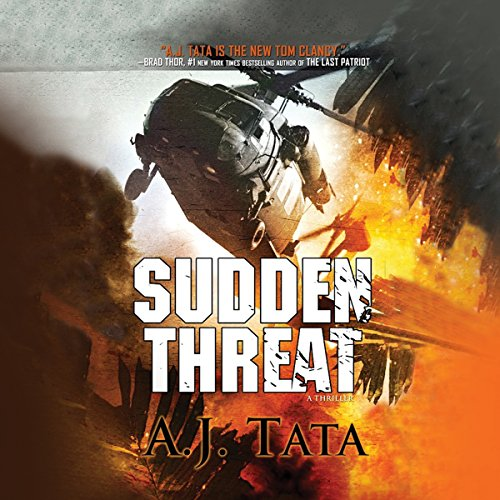 Sudden Threat audiobook cover art