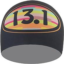 عصابة رأس بوندي باند 13.1 ملونة مخططة ممتصة للرطوبة 10.1 سم