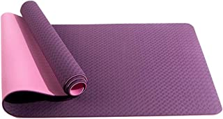 ZIWEIHUA Eco Friendly TPE Yoga Mat Non-Slip Workout Mat for Yoga & Fitness Mat with Carrying Strap - for All Types of Yoga...