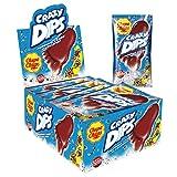Chupa Chups Crazy Dips, 24er Thekendisplay, Cola-Lollis mit Brausepulver und Knistereffekt