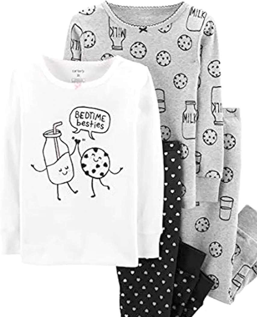 Carter's Baby Girls Regular Free shipping / New dealer Bed Besties Pajama Four Set Piece