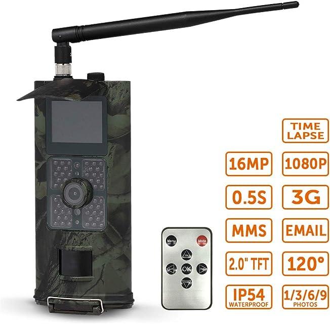 MIASY Full HD 1080P 16MP Rastro de la Caza de la cámara de vídeo de la visión Nocturna 3G GPRS MMS Scouting Juego
