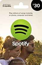 spotify gift card code