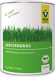 Raab Vitalfood Verde De Cebada Polvo 75Gr. Bio 1 Unidad 100 g
