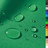1buy3 'Monaco Wasserdichter Polyester Stoff | 12.000 mm Wassersäule | Farbe 12 | Grün | Polyester Stoff 160cm breit Meterware wasserdicht Outdoor extrem reissfest