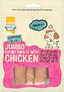 Armitage Jumbo Chicken Chewy Twists - 100g