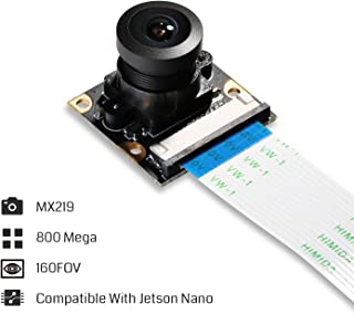 SainSmart IMX219 Camera Module for NVIDIA Jetson Nano Board & Raspberry PI CM3 8MP Sensor 160 Degree FoV,RoHS Certified