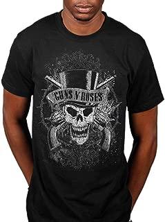 Official Guns N Roses Faded Skull T-Shirt
