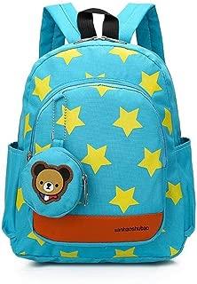 24x10x28cm Children Star Bag Kids School Bag Children S Backpack Infantis Knapsack School Supplies Rucksack Boys Girls Zhaozb (Color : Green)