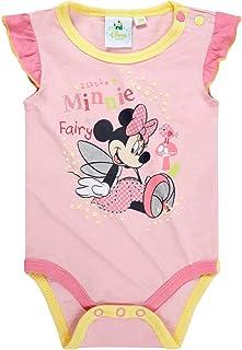 2er Pack Disney Bambi Lagarmbody wei/ß rosa 12-18 Monate 86