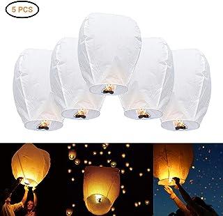 Fyeep 10 linternas voladoras Chinas, Linterna del Cielo, linternas del Cielo Globo del Cielo Skylaterns