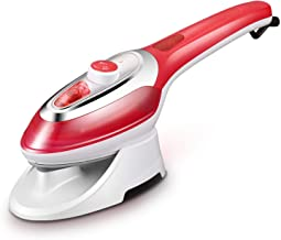 I'll NEVER BE HER Hanging Hot Steam Iron Hanging Hot Home Portable Hand Iron Ironing Clothes Underwear Steam Brush,White,Us