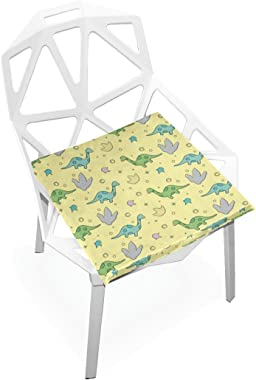 gaopeng Seat Cushion Chair Cushions Covers Set Colorful Dinosaur Decorative Indoor Outdoor Velvet Double Printing Design Soft Seat Cushion 16 x 16