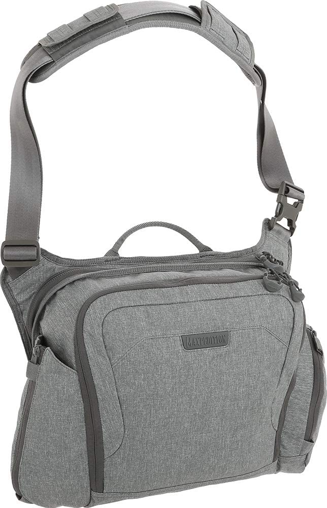Maxpedition Entity Crossbody Bag (Large) 14L, Ash