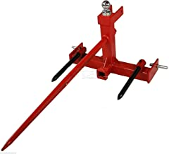 Tractor 3 point hitch hay spear attachment and Gooseneck Trailer Receiver