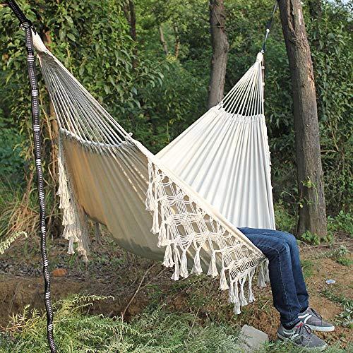 Gifftiy Hamaca Terraza Amaca Colgante Hamaca De Camping Silla Colgante Hamaca Interior Hamaca Brasileña