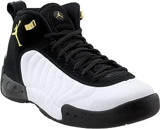 Men's Jumpman Pro Basketball Shoe, Black/Metallic Gold/White, Size 11