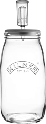 Kilner Glass Fermentation Set, 3L, Clear 01796