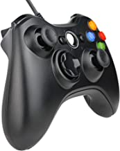 Kycola SL11 Xbox 360 Wired Controller USB Gamepad For Microsoft Xbox 360/PC Windows (Black)