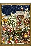 Calendario dell' Avvento Babbo Natale vittoriano